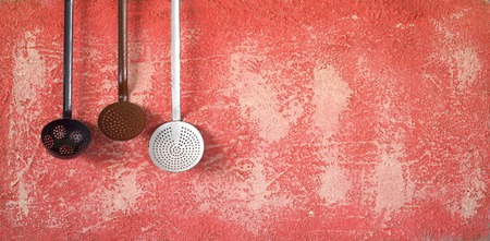 cucina antica: vecchi utensili da cucina, concetto di cucina, spazio copia gratuita
