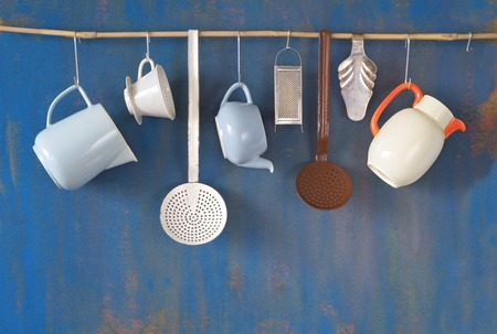 빈티지 주방 용품, 무료 사본 공간