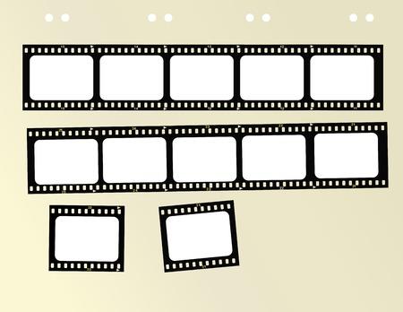 35mm format filmstrip,free copy space