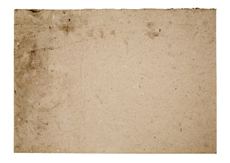 yellowed: Blank cardboard sign, free copy space Stock Photo