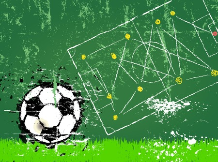 pilsener: Soccer or Football , free copy space, vector