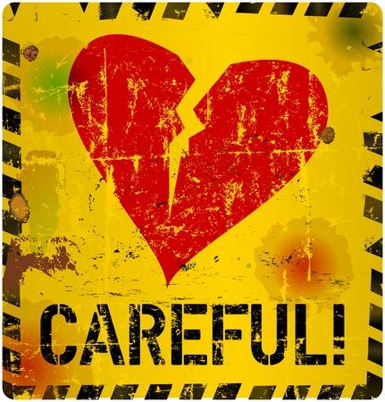rave: heartbreak warning sign, love o.