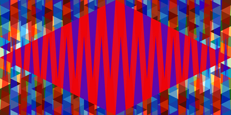 seamless pattern: seamless triangle background pattern