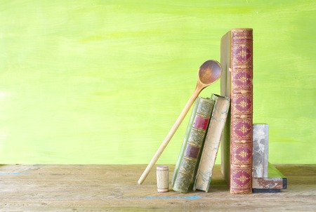 vintage cookbooks, free copy space