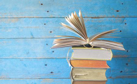 open book, good copy space