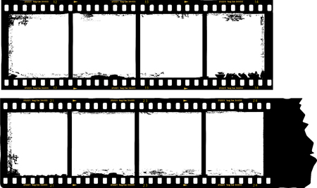 photo strip: frame of film, grungy photo frame,with free copy space,vector