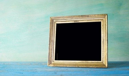 vintage photo: vintage photo frame, free space for pictures Stock Photo