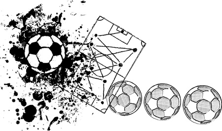soccer football design template free copy space vector royalty