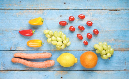 healthy food for dieting in springtime