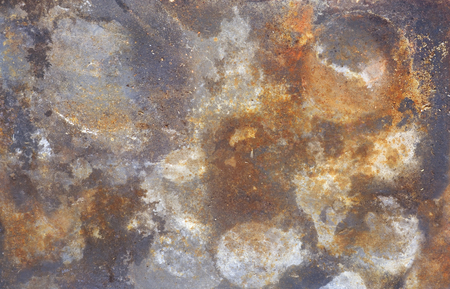 rust structure on old iron, grunge background
