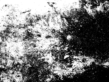 Grunge background, vector, black and white, structure with dirt, cracks,spots