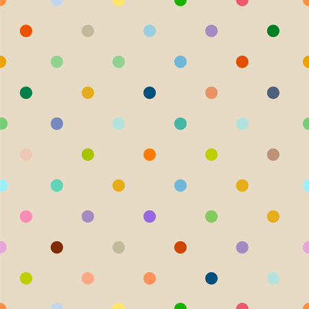 seamless polka dot background pattern clean style, vector illustration