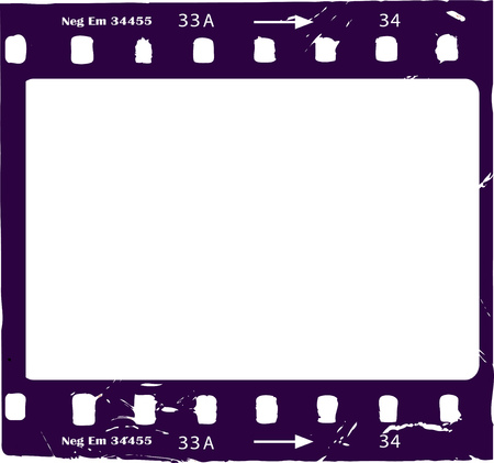 photographic film, negative film, photo frame, free copy space, vector