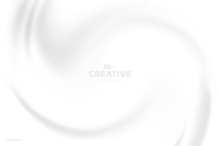 Abstract white canvas swirl design for artwork sheet background.