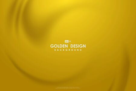 Abstract golden mesh design of pure soft mesh decorative premium background. Vector Illustratie