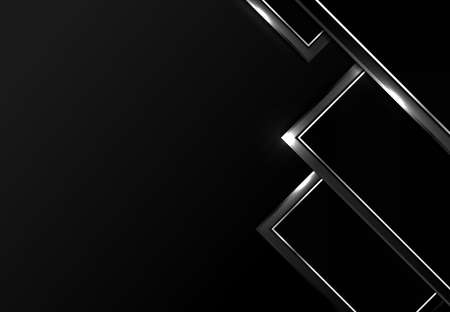 Abstract premium gradient tech black design pattern artwork background. Use for ad, poster, template design, print. illustration vector