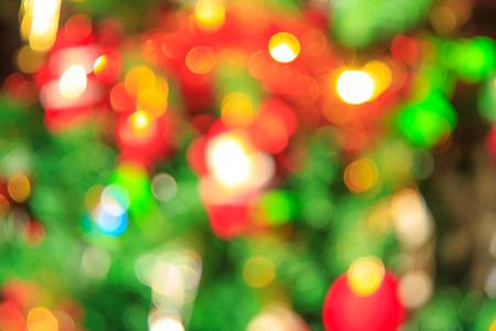silhouettable: Bokeh Christmas decoration ,on christmas tree