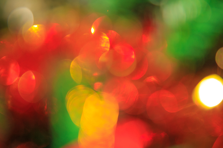 silhouettable: Bokeh Christmas decoration ,on christmas tree