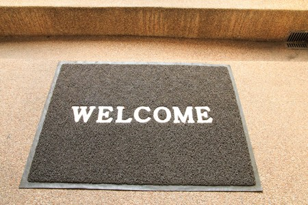 welcome mat: Welcome carpet