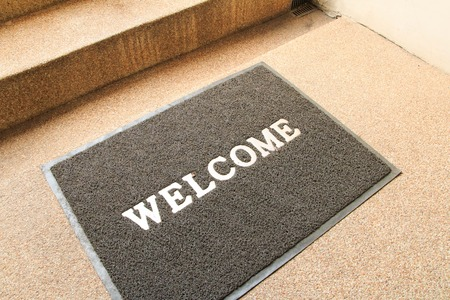 welcome symbol: Welcome carpet