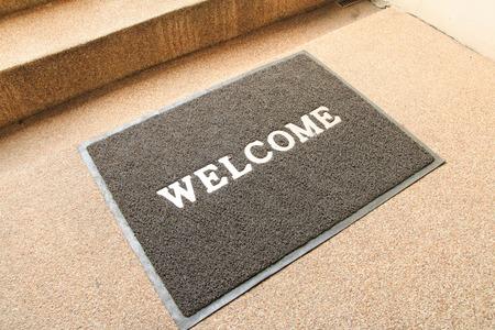 alfombra de bienvenida