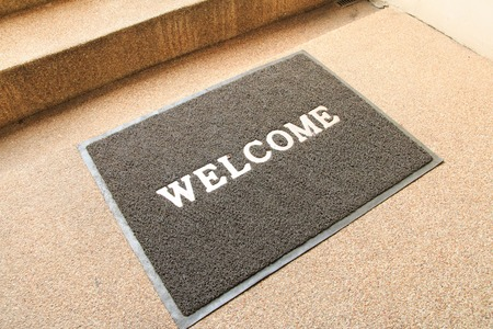 dirty feet: Welcome carpet