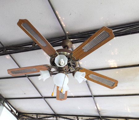fan ceiling: Vintage ceiling lamp fan