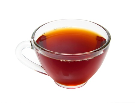 Cup of tea on white background,Isolated Stock Photo - 16596214