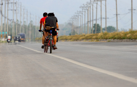 road cycling: cycling on the road