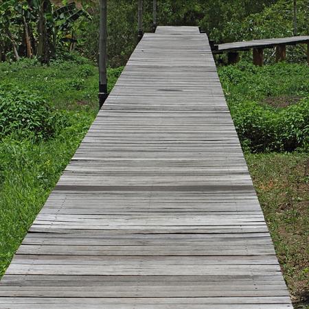 pannel: Boardwalk to national park