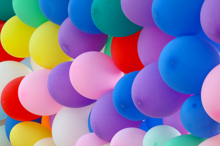 An array of colorful balloons for the celebration of any special occasion