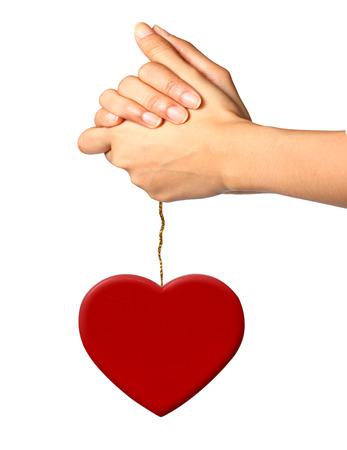 applauding: Praying for Love Stock Photo