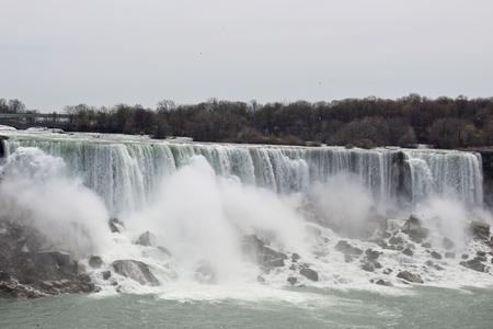 Niangara fall in Canada