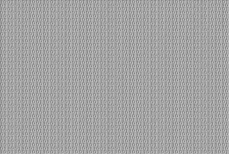 zeroes: Embossed binary pattern on grey background Stock Photo