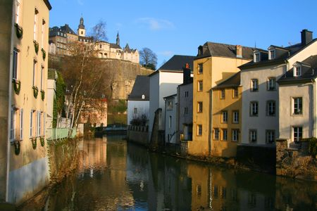 The old part of Luxembourg-City
