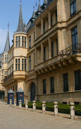 The Grand-Dukes palace in Luxembourg