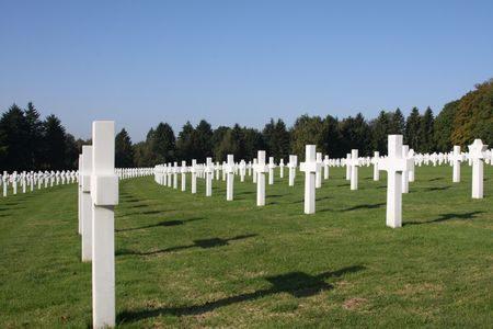 The American Military Cemetary In Luxembourg