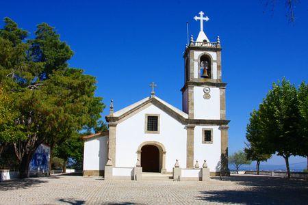 senhora: Nossa Senhora da Esperança near Tondela, Portugal Stock Photo