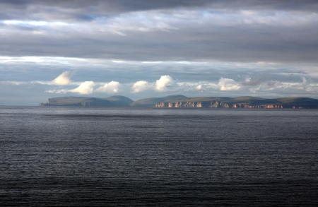 mainland: The Orkney Islands seen from Mainland Scotland
