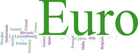 cloud based: Word Cloud based on the Euro