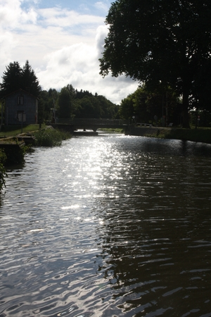 On the Canal des Vosges, France