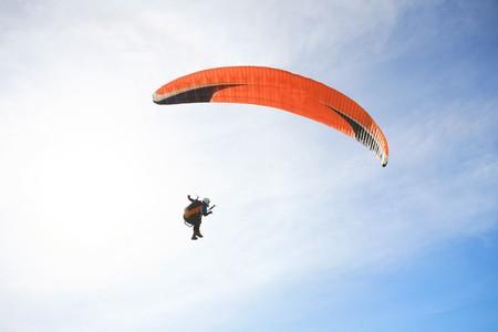 Paragliding  at phuket thailand