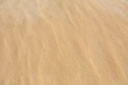 Wave of water on clear sandy beach  photo