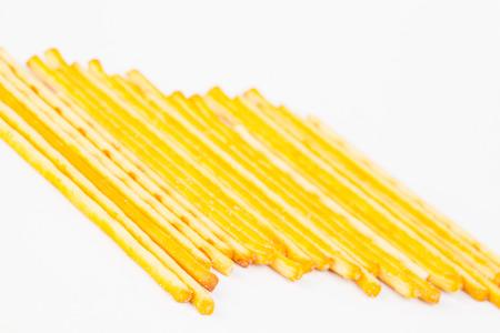 pretzel: Pretzel snacks  on white background.