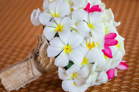 Flower Bouquet of Plumeria photo