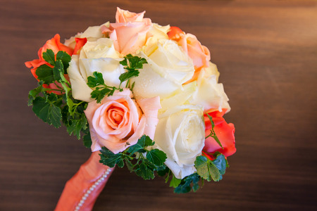 registrar: wedding bouquet of roses
