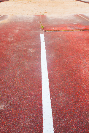long jump: Track & Field Long Jump Sand Pit