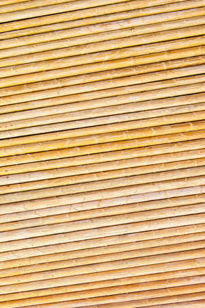 bamboo fence background and texture photo