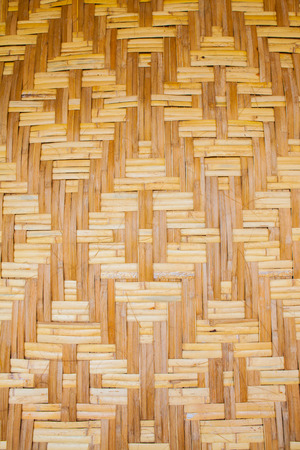woven: woven texture bamboo crafts Stock Photo