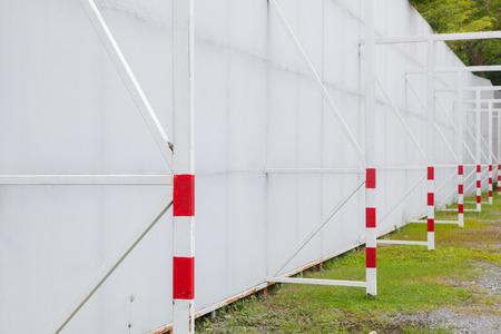 xwhite: Stadium fence